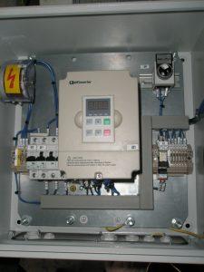 Блок управління електричним двигуном дельта-скрепера БУЭДС-02